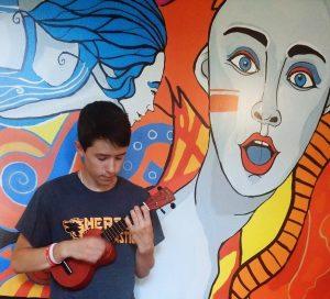 młody artysta